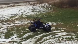 7. 2017 Hammerhead GTS 150 Go Kart