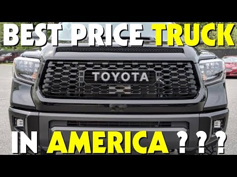 🏁 New 2019 Toyota Tundra Crewmax Limited SR5 | Best Priced Truck in America?!? Review It VLOG