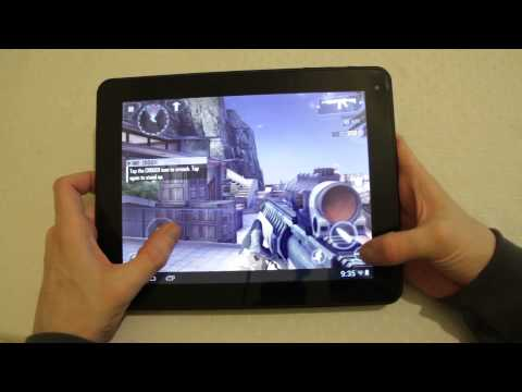 9.7 - Our Prestigio MultiPad 9.7 Ultra Duo review of this cracking £199 Android Tablet the PMP5597D. With a Cortex A9 CPU and a Quadcore GPU this tablet really fli...