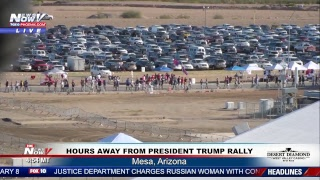 FNN: President Trump campaigns in Arizona, midterms just 18 days away