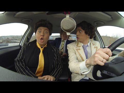 車內模仿秀大車拼,俄羅斯喜劇演員也來參一腳