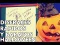 DISFRACES RAPIDOS Y SENCILLOS PARA HALLOWEEN │ #brunoacme