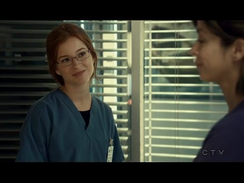 Saving Hope CZ 3x08 Maggie + Sydney all scenes and with Kiss Nr.1