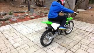 1. 2005 Kawasaki klx125l klx125