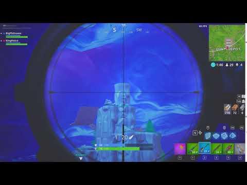 281m  Snipe *one clip*