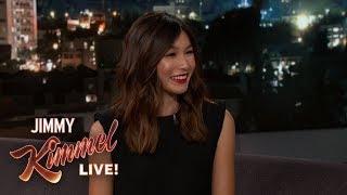 Video Gemma Chan on Captain Marvel, Robots & Crazy Rich Asians MP3, 3GP, MP4, WEBM, AVI, FLV Mei 2019