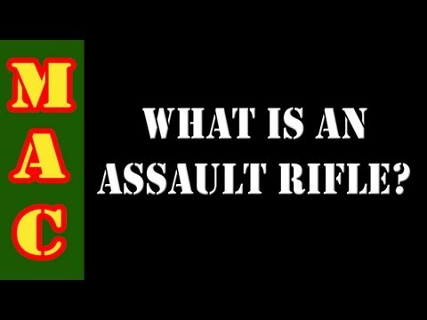 Rifle - The media and the anti-gunners are trying to tell Americans that