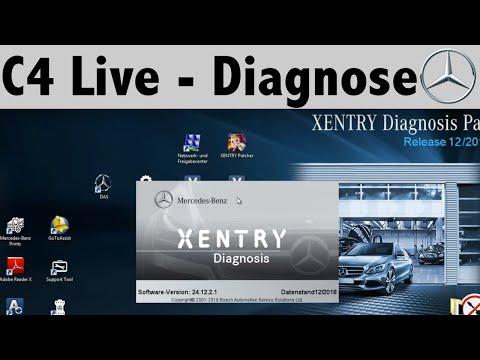 C4 Mercedes-Benz Star Diagnosis