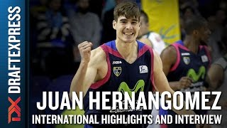 Juan Hernangomez Interview and Season Highlights