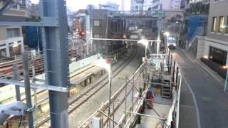 代官山 東急 高架工事の翌日。1日でここまでよくできました!