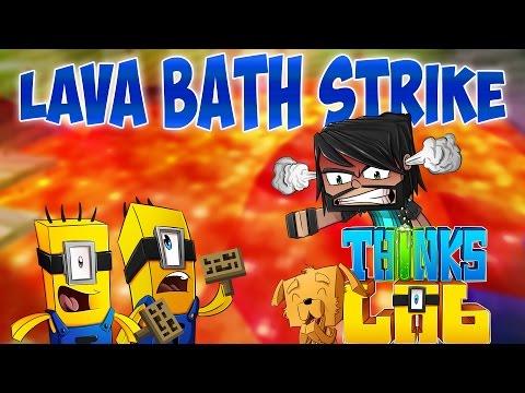 Minecraft Mods : Think's Lab - Lava Bath Minion Strike! [Minecraft Roleplay]