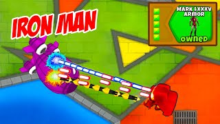 Bloons TD6 But We Added Iron Man