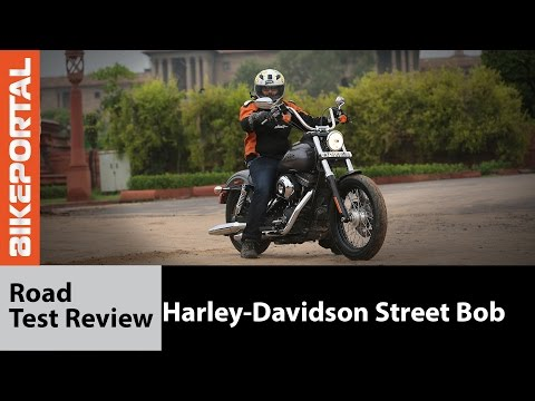 Harley-Davidson Street Bob Test Ride Review - Bikeportal