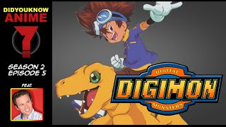 Digimon - Did You Know Anime? Feat. Joshua Seth (Tai)