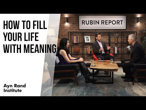 How to Fill Your Life with Meaning (Dave Rubin Interview with Yaron Brook and Gena Gorlin)
