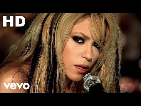 Te Aviso Te Anuncio - Shakira (Video)