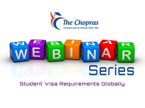 Student Visa Requirements Globally – Webinar