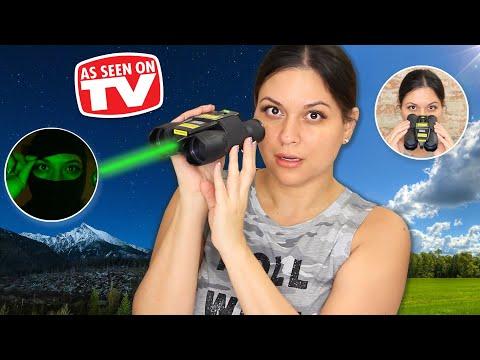 Night Hero Binoculars Review - Testing As Seen on TV Products