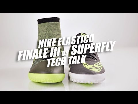 III - Join Jakob as he takes a closer look at the differences between the newly released Nike Elastico Superfly and the Elastico Finale III - both of which are top-of-the-line models, but with some...