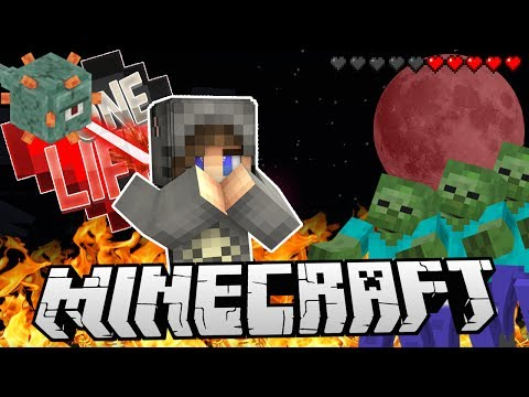 STUCK OUT IN A BLOOD MOON! - One Life Season 2 Minecraft SMP - Ep.8