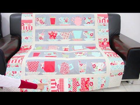 copri divano in patchwork
