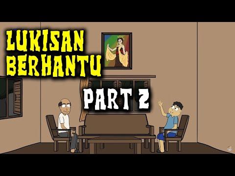 Download Video Misteri Lukisan Berhantu - Part 2 | Animasi Horor Kartun Lucu | Warganet Life