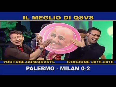 qsvs: i gol di palermo - milan 0 a 2