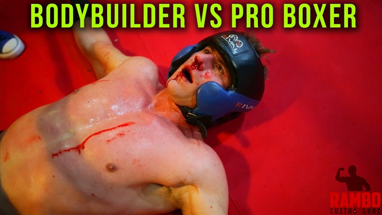 Bodybuilder vs Pro Boxer Allan Green
