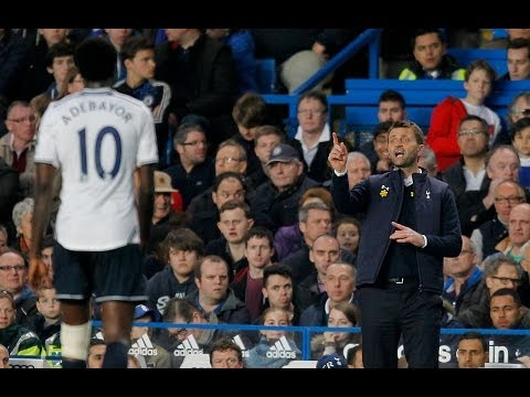 tim - Watch Tottenham Hotspur manager Tim Sherwood's outburst after his team's second-half capitulation at Stamford Bridge resulted in a 4-0 defeat against Chelsea...