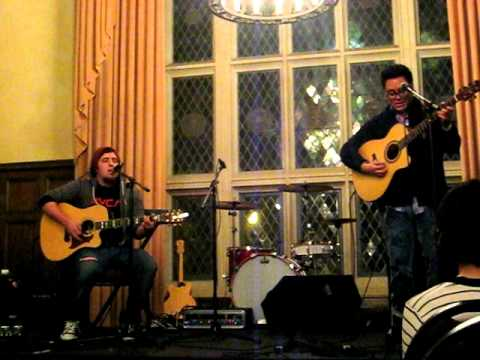Andrew Garcia & Lee Dewyze - Hallelujah (Cover) at UCLA