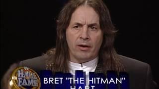 Video WWE Hall of Fame 2006 - Bret Hart Induction Speech MP3, 3GP, MP4, WEBM, AVI, FLV Desember 2018