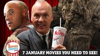 7 January Movies You Need to See! by Screen Junkies