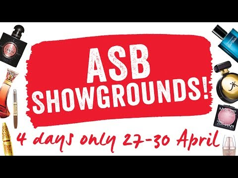 Fragrance and Makeup sale - ASB SHOWGROUNDS and BOTANY TOWN CENTRE