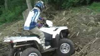 4. 2009 Suzuki King Quad 750 with Power Steering Test