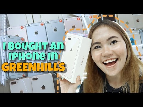 I BOUGHT AN IPHONE IN GREENHILLS!! (GPP NA IPHONE, OKAY KAYA?)