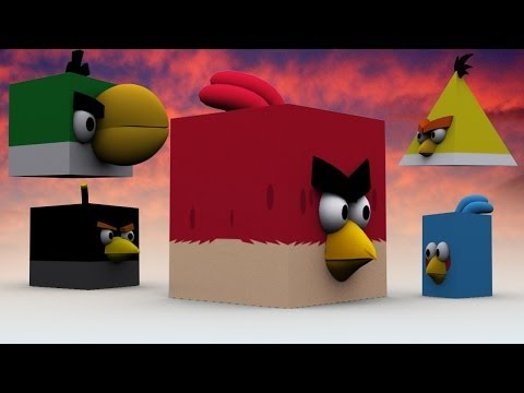 ANGRY MINECRAFT BIRDS DANCING(강남스타일)