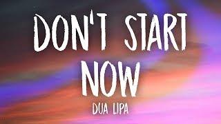 Video Dua Lipa - Don't Start Now (Lyrics) download in MP3, 3GP, MP4, WEBM, AVI, FLV January 2017