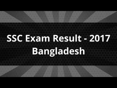 SSC Exam Result 2017 Bangladesh educationboardresults gov bd