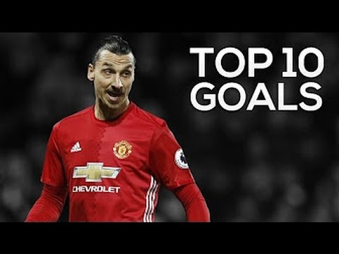 Zlatan Ibrahimovic ● Top 10 Goals For Manchester United!