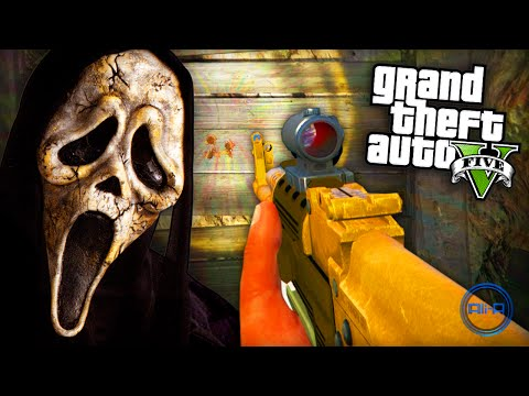 """GTA 5 Funny Moments – """"SCARY SECRET!"""" – (Grand Theft Auto V PS4 Gameplay)"""
