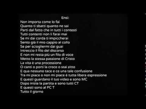 , title : 'Salmo Ft. Ensi- Tutti Contenti Testo'