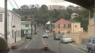 Saint Thomas U.S. Virgin Islands  City pictures : Driving through Saint Thomas U.S. Virgin Islands