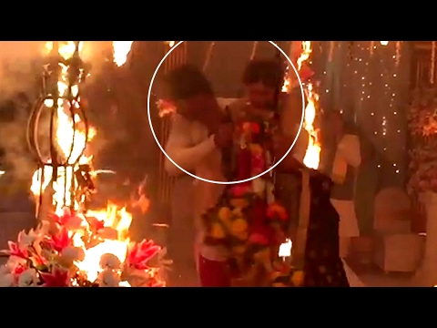 Kushal Tandon SAVES Jennifer Winget from FIRE on B