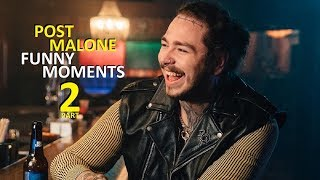 Video Post Malone FUNNY MOMENTS Part 2 (BEST COMPILATION) MP3, 3GP, MP4, WEBM, AVI, FLV Oktober 2018