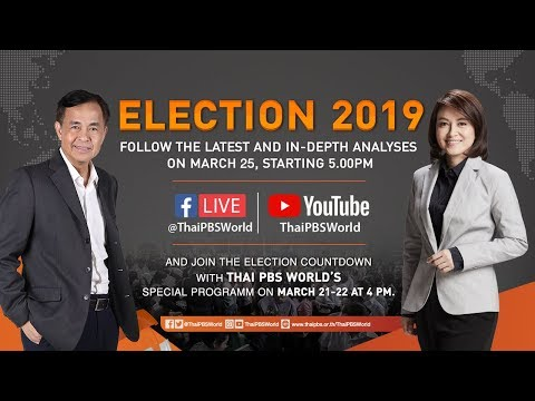 Live! Thai PBS World's special program on the election aftermath.