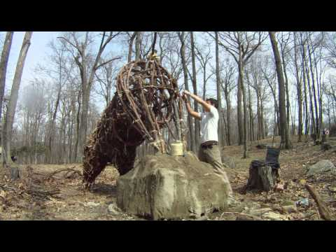 A guy I know from high school builds these things out of items from nature... Its pretty incredible
