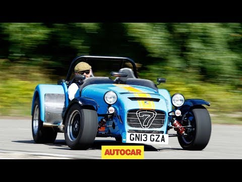 Caterham SEVEN 620 R Caterham 620R slays Volkswagen Golf GTI - Caterham's fastest ever road car tested
