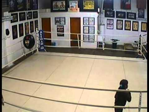 2010.12.08 ABF Gym 703 China shadow boxing... (видео)