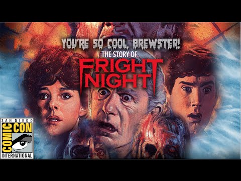 You're So Cool Brewtser: The story of Fright Night | Comic-Con 2015 trailer |