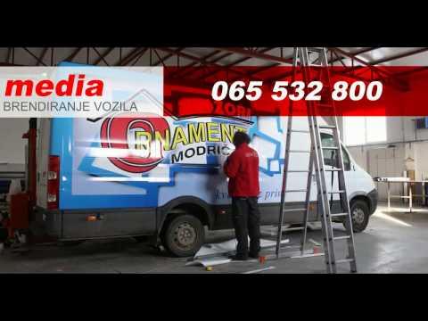 Media Modriča - Brendiranje vozila